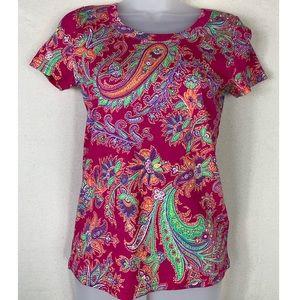 💫Lauren Ralph Lauren | Paisley T-Shirt.